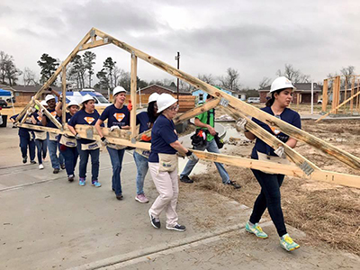 #FrontierCares: Habitat for Humanity